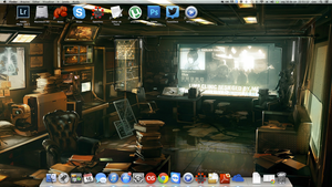Current Desktop by eroguro