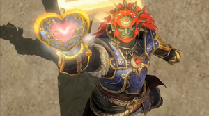 Ganondorf is  a playable  in Hyrule Warriors! by malerfique