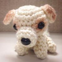 Tiny Puppy by ADayToCrochet