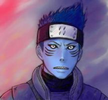 young kisame (color) by laurenloogie