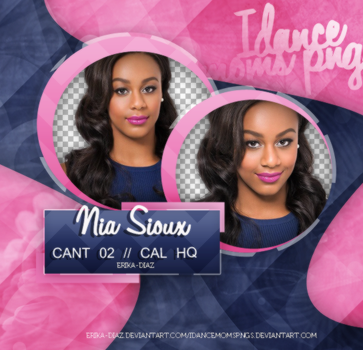 //Pack png Nia Sioux by iDanceMomsPngs