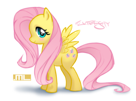 Fluttershy by MLeth