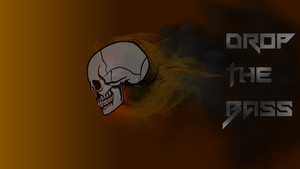 Drop The Bass - Skull by NoMansLand1212