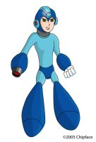 pissed off mega man by chipface-zero