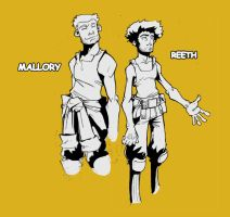 Reeth and Mallory by Lysol-Jones