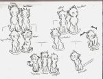 Leafpool and Crowfeather-Family Tree by Applemist