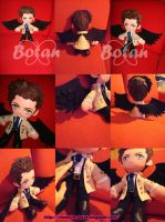 Castiel plush version by Momoiro-Botan