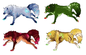 Wolf Adopts :D by ErisAdopts