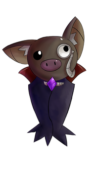 Sir Nibblet The Bat by InfernoWizard