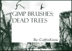 Gimp Brushes: Dead Trees by coffinkittie