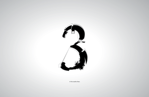 the number three by justincurrie