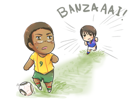 APH: Japan vs Cameroon by Akane-Hoshiyo