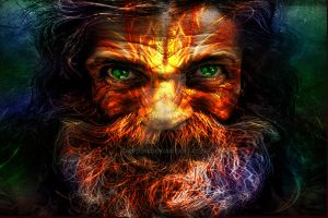 Old man Look by Epogh