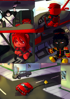 My OCs are going in GTA mode by TerryRed
