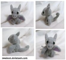 Aerodactyl Needlefelt by Swadloon
