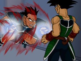 Bardock v. Toma: I HATE YOU by emif