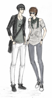 Here have some hipsters by EpicNeutral