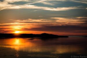 Sunset Mabou Harbour by steverankin