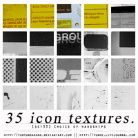 35 icon textures - choice of by yunyunsarang