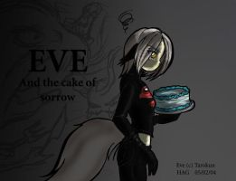 Eve and the cake of sorrow by avencri