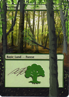 MTG Alteration - Forest 2 by Altik0