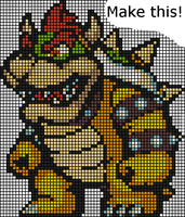 Bowser Bead Challenge by dylrocks95