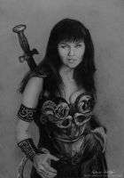 Xena Warrior Princess by MonicaHooda