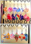 MLP - Pokemon - Adventure Time Earrings by mmishee