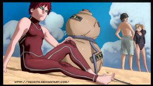 Gaara Of Desert by Veckito