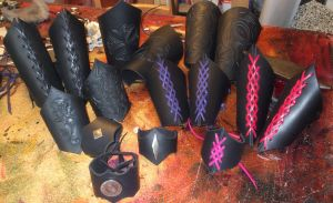 Black Winter collection by Artapologia
