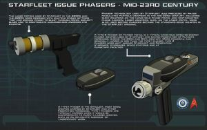 Phasers [Mid23rd Century] Tech Readout by unusualsuspex