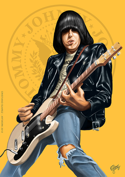 Do you remember Johnny Ramone by christiano-bill