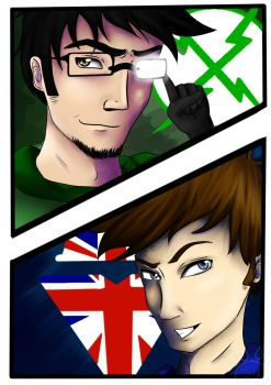 X-RAAYY AND VAAAVVV!! by l3lue-Kat