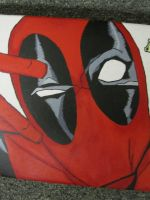 Deadpool Skateboard 3 by MUFC10