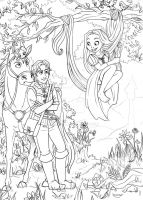Tangled Outlines by Daishota