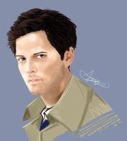 Supernatural: Castiel by SingapuraCat
