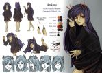 C: Arakune Character Sheet by MissPinks