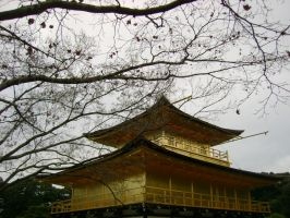 The Golden Pavilion Kyoto by Anarielhime