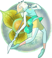 Golden-berry Gem (Pearl) by ZikauAlpha