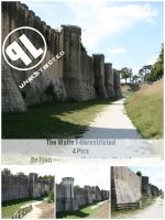 Medieval walls 1- Unrest by Cat-in-the-Stock