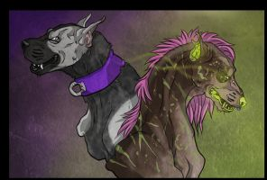 Rabid Mongrels YCH Auction (CLOSED) by Gutter-Mutt