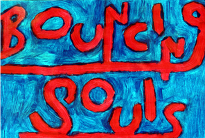 Bouncing Souls - Painting by jess13795
