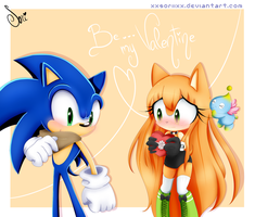 .: Be my valentine :. by SoriiNyu