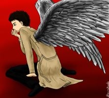 Castiel by beccahanks