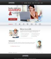 Web Design: Canadian Speed Reading by ab6421