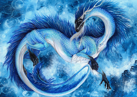 Marine Dragon by Isvoc