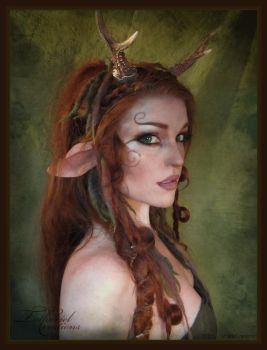 Faun makeup by TatharielCreations