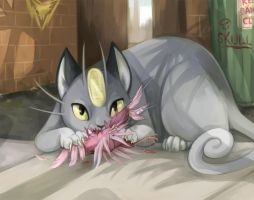 Pokemon - Alola Meowth