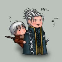Dante and Vergil Buzz ID by valefor