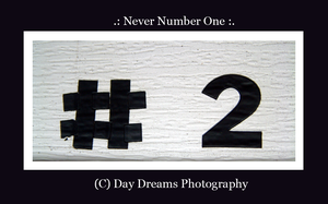 .:Never Number One:. by DayDreamsPhotography
